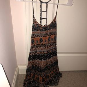 Forever21 Tribal Print Dress